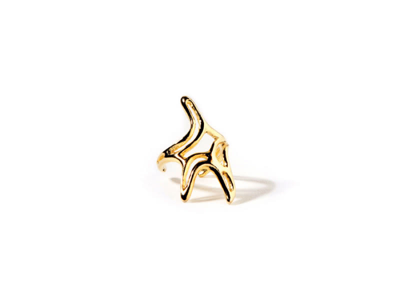 starfish-gold-plated-ring-