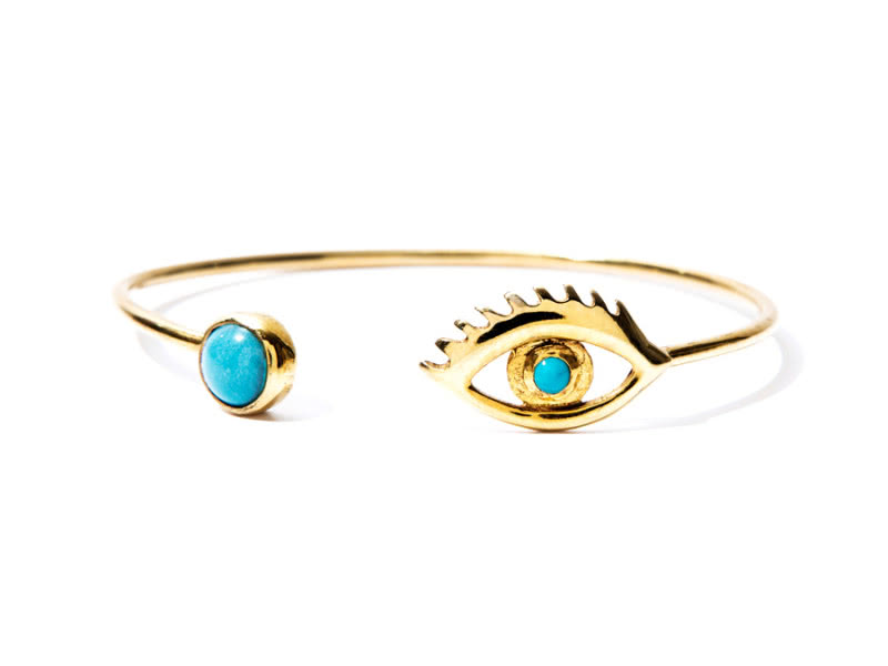 04-Occhio-sterling-silver-gold-plated-bracelet-with-natural-turquoise-stones